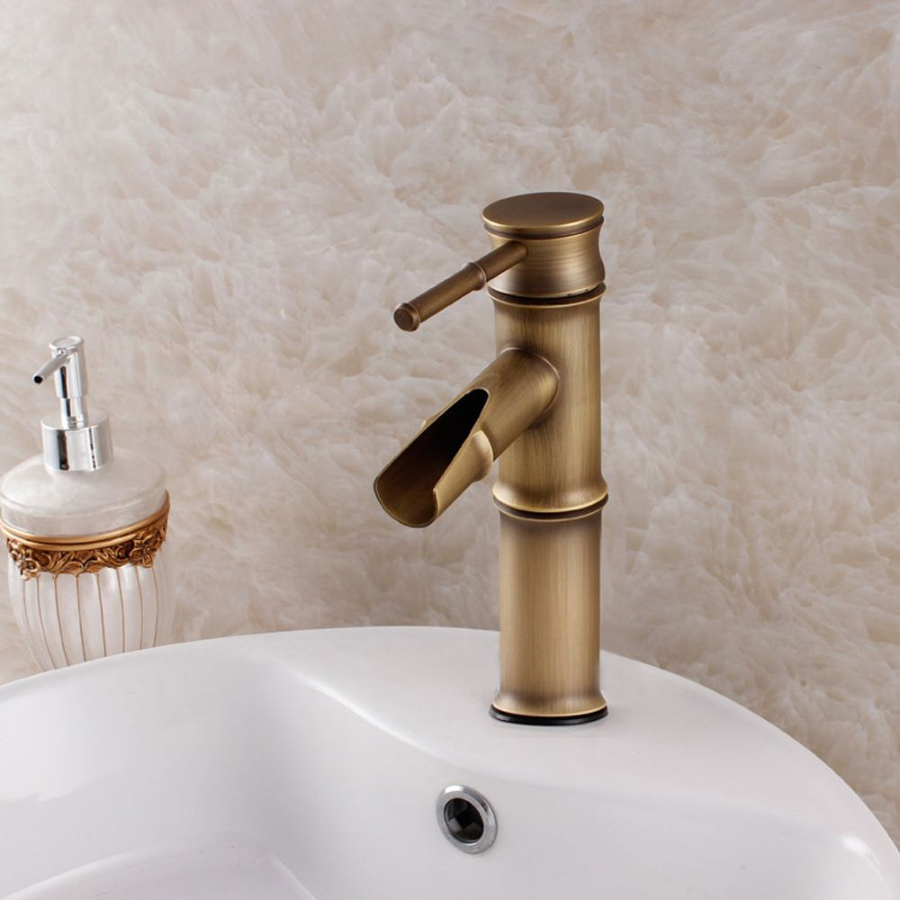 BECOLA Free shipping faucets antique bronze colour antique bathroom ...