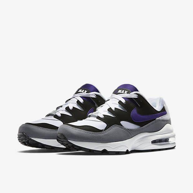 Nike Air Max Cheap - 2015 Nike Air Max 94 Court Purple Shoes for Men