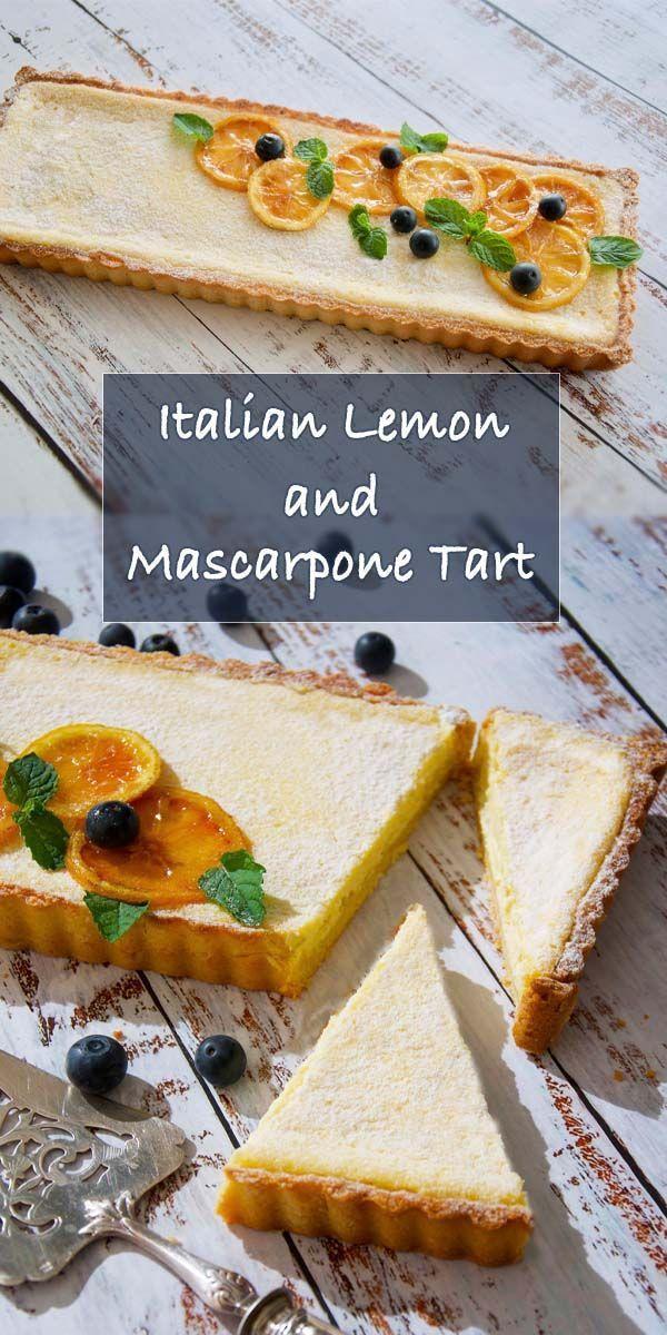 Photo of Italian Lemon and Mascarpone Tart
