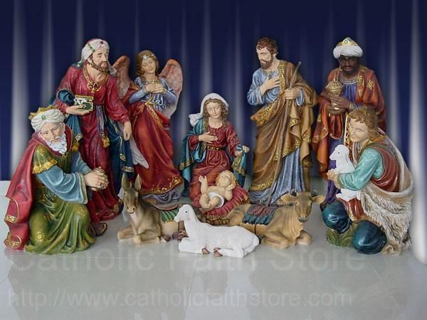 Pin On Nativity Carvings