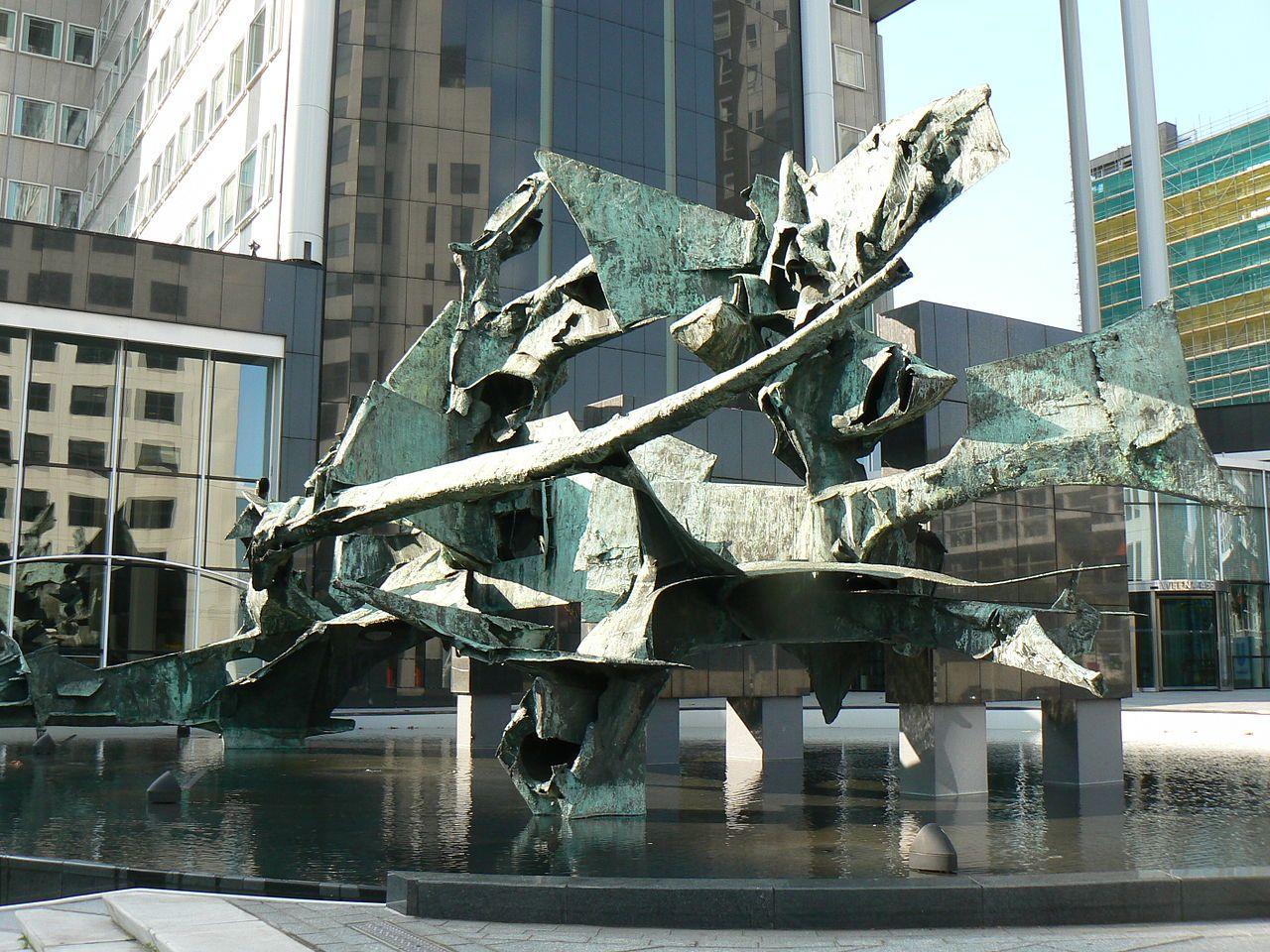 Lijst van beelden in Rotterdam-Centrum - Wikipedia | sculptural ...