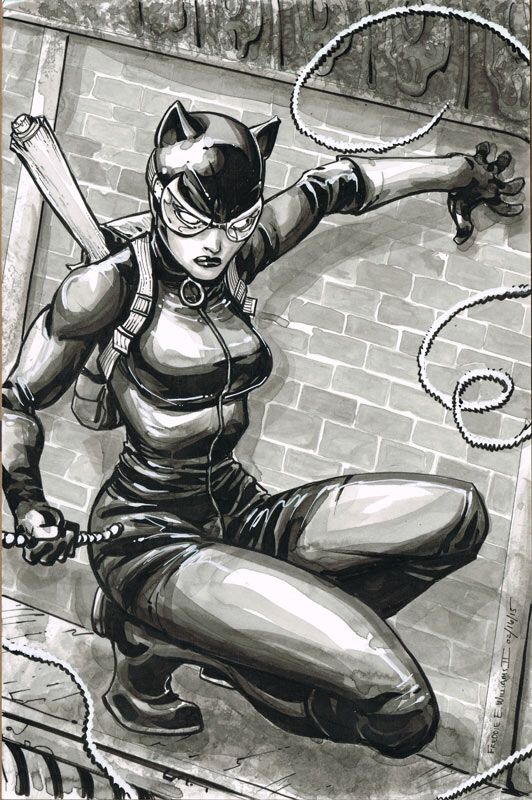 Catwoman by Freddie E. Williams II