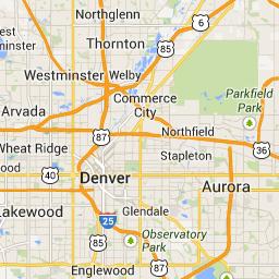 Longmont Co To Denver Co Google Maps Lavender Fields In