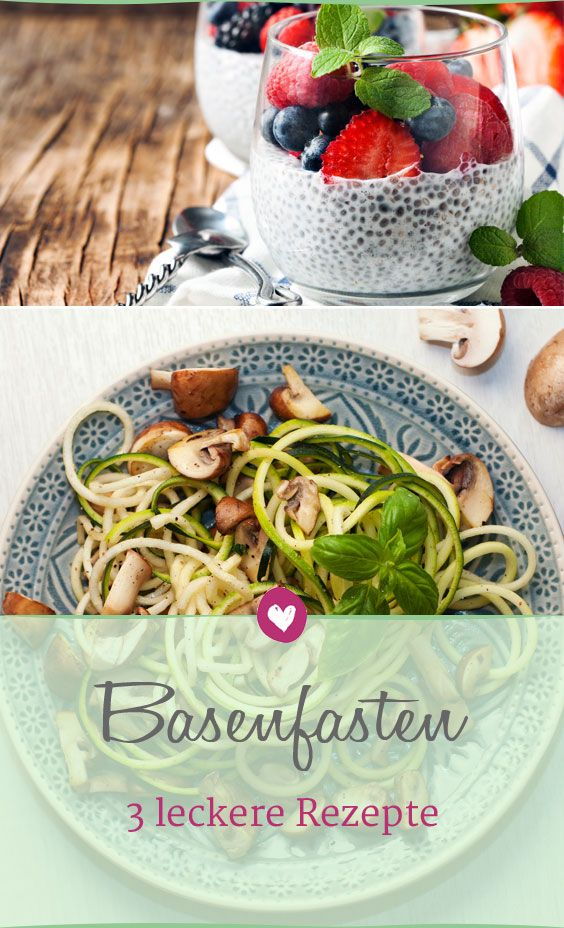 Photo of Base fasting: 3 delicious recipes with basic foods