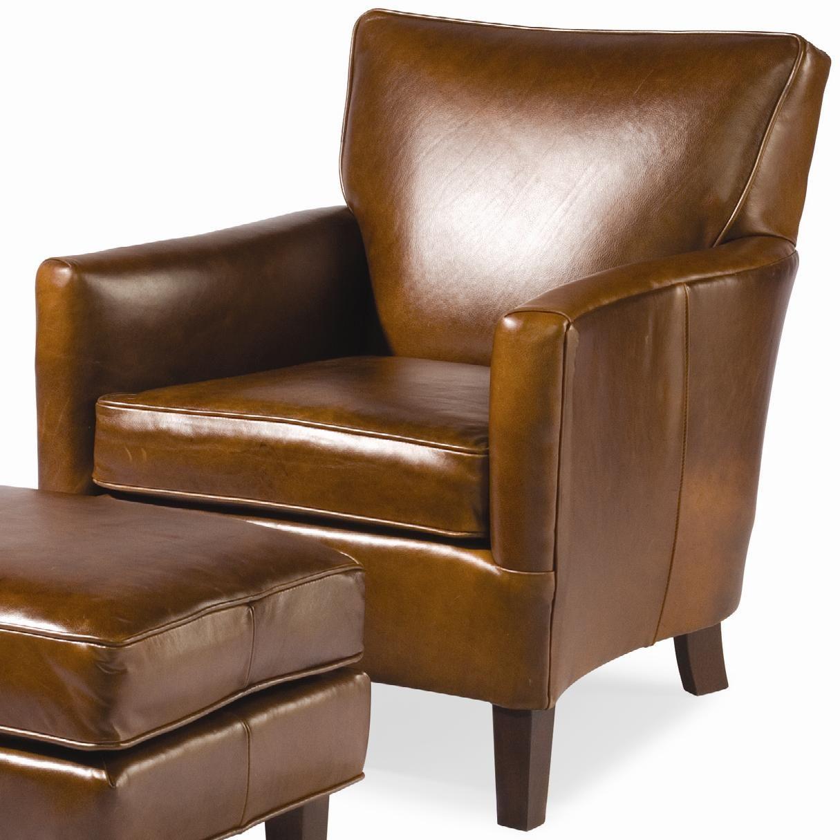 Nigel Club Chair By Sam Moore Leather Club Chairs Club
