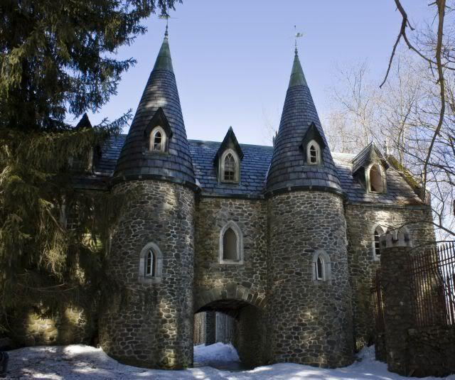 Beaverkill Castle, Près De Craige Clair Rd, NY (With