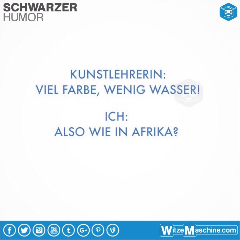 Witze über afrikaner