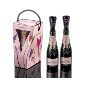 dafede941ff Moet  amp  Chandon Rose Imperial Mini 200 ml Pack 2 + Flute. The Imperial