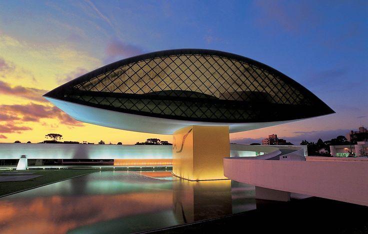 Museu Oscar Niemeyer curitiba - rk motors