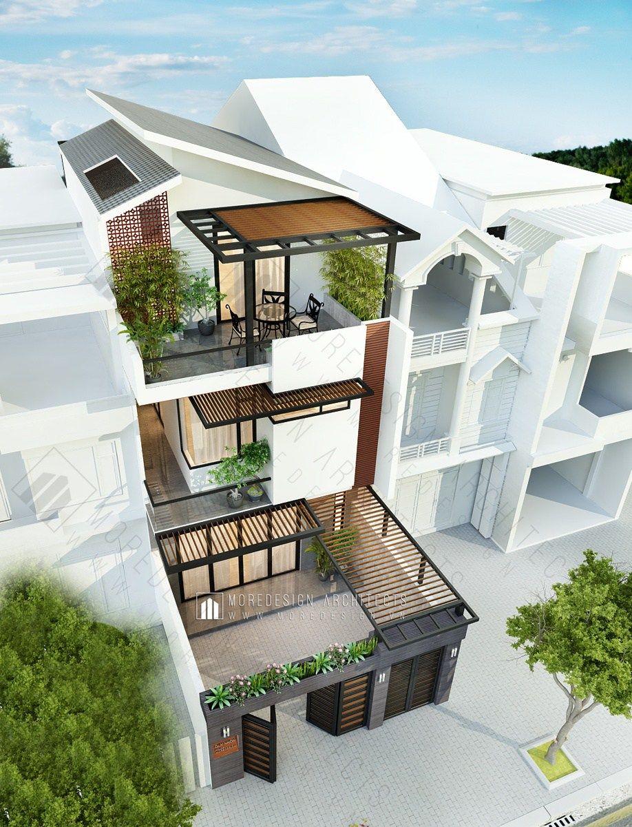 NHÀ 6,5x20m | MOREDESIGN™ Architects | Plantas de casas | Pinterest ...