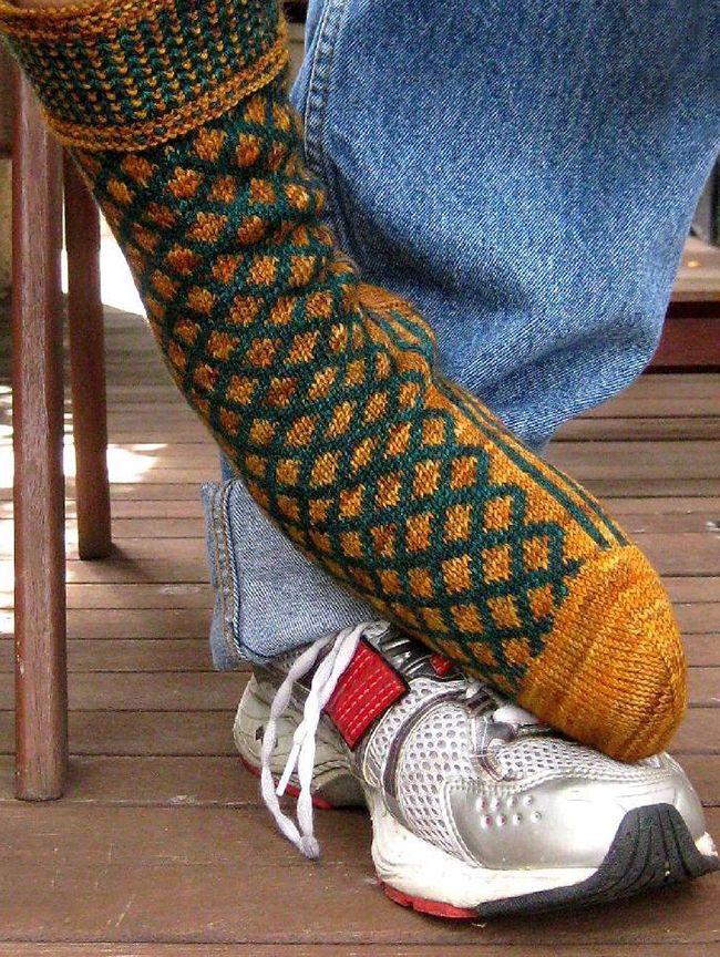 Five great sock patterns for men | knitting | Pinterest | Knitting ...
