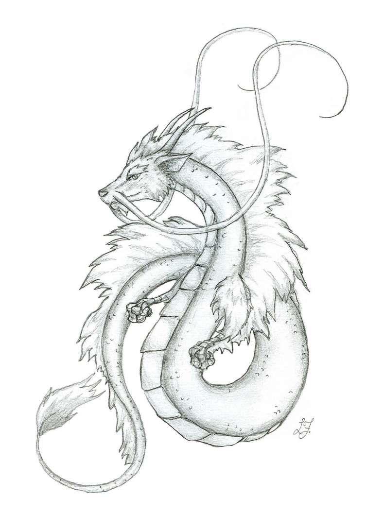 17 Japanese Dragon Drawings Tatuajes De Dragones Japoneses Dibujo De Dragon Dragones