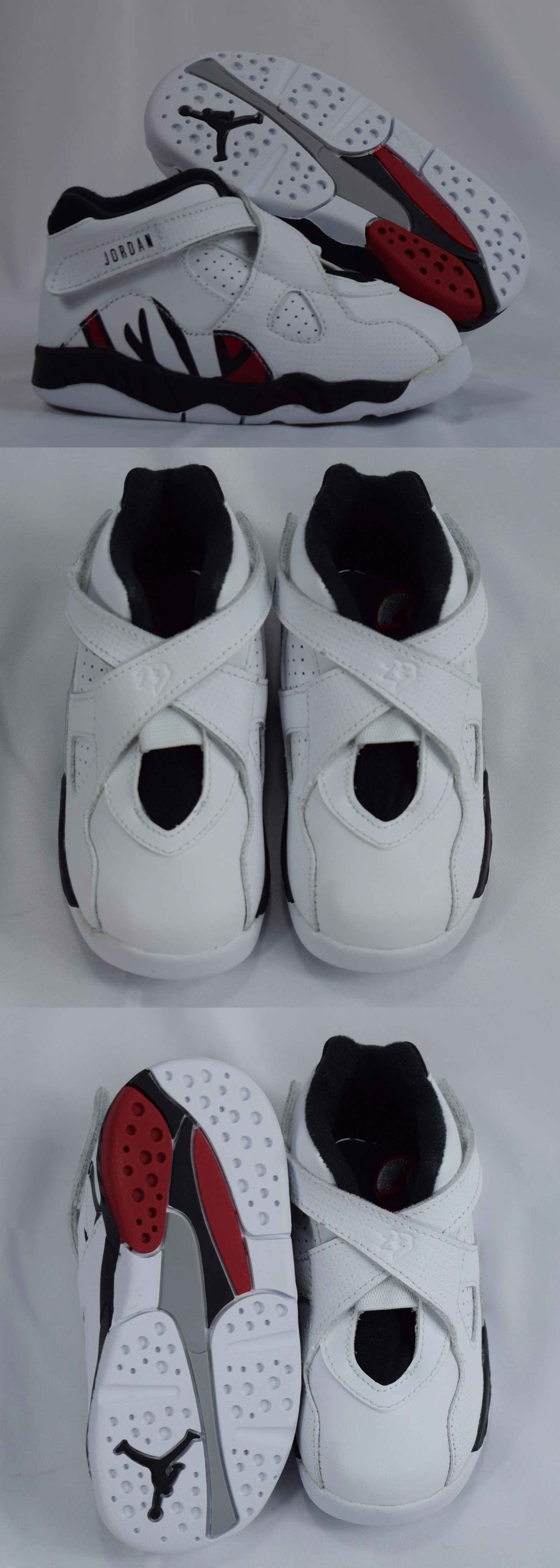 Baby Shoes 147285: Nike Jordan 8 Retro Bt 305360 104 White