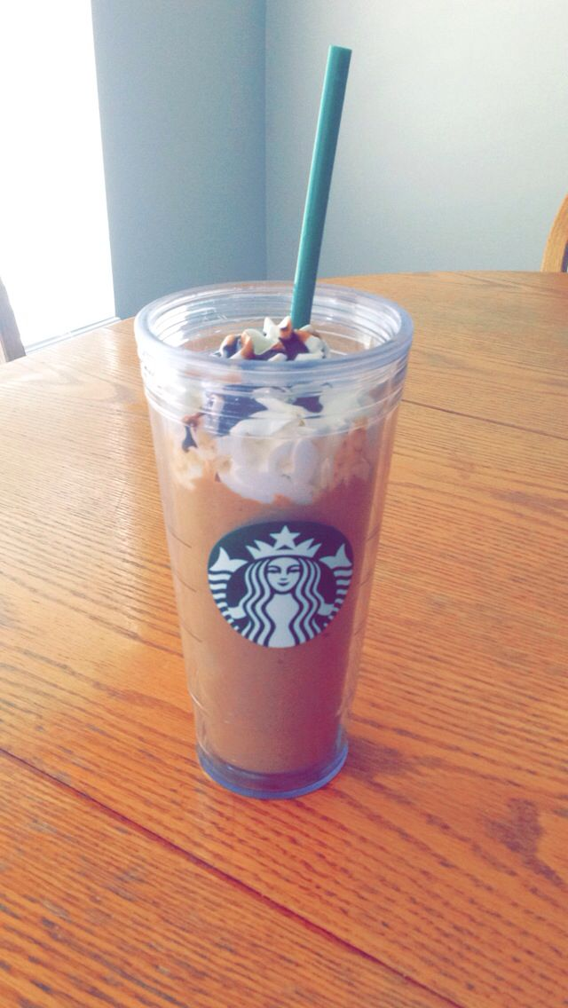 Butterscotch Starbucks imitation frappachino DIY Turned ...