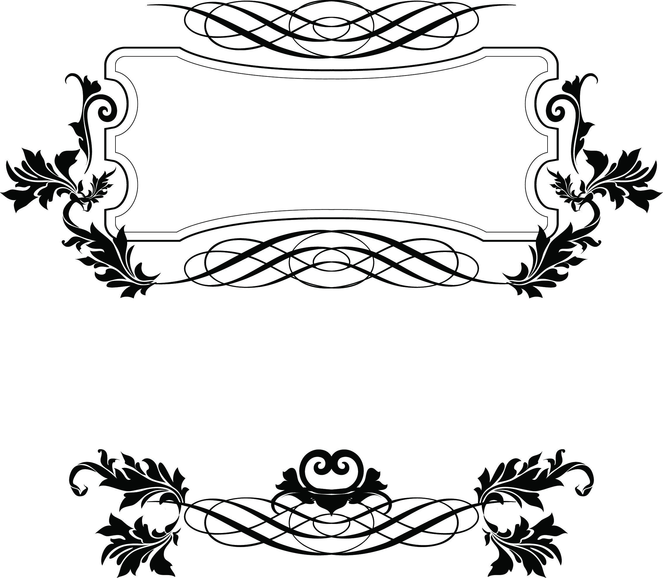 Free Vector Decorative Borders Decorative Borders Border Design Borders And Frames