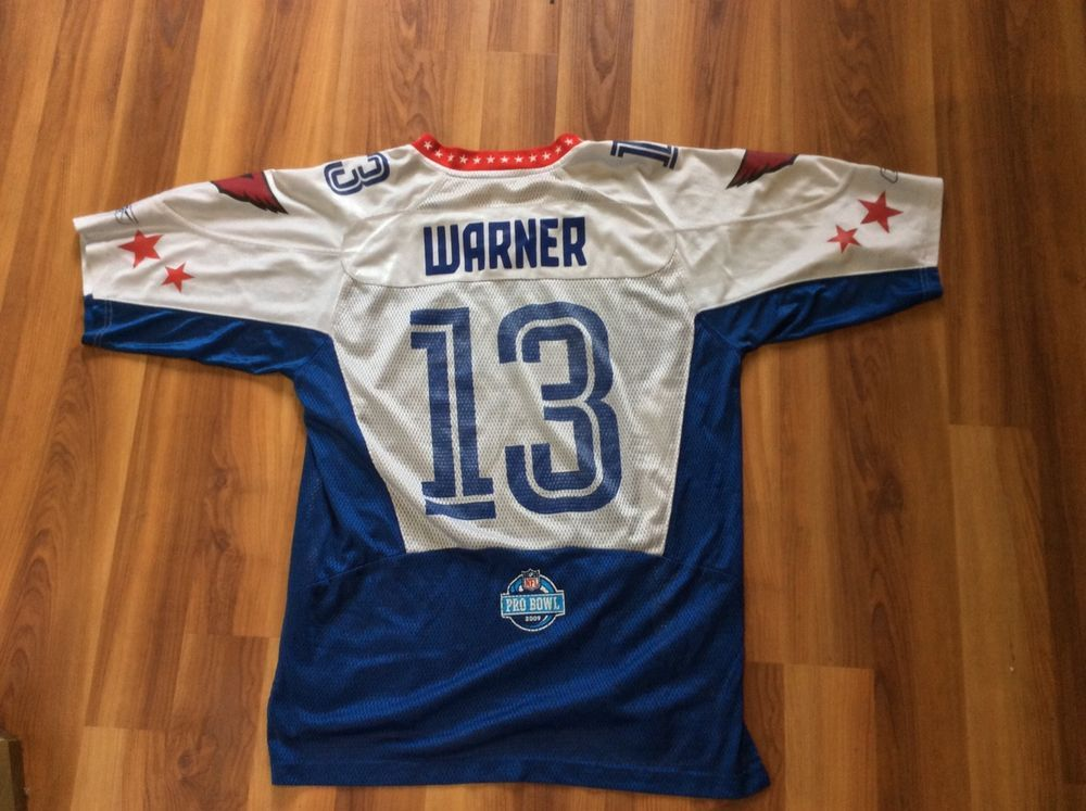 748bacca8 Kurt Warner 13 Arizona Cardinals 2009 NFL Pro Bowl Football Jersey M Reebok Kurt  Warner