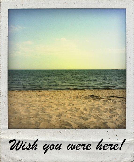 Wish you were here #polaroid #polamatic #app #beach #summer   frames ...