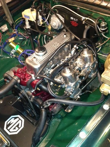 mgb engine loved working on these engiines pinterest rh pinterest com
