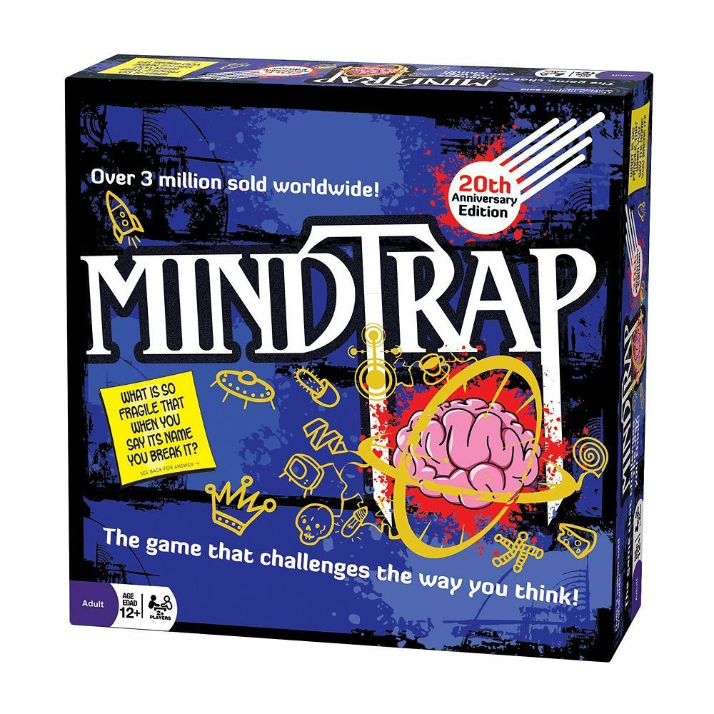 MindTrap 20th Anniversary Edition Game by Outset Media