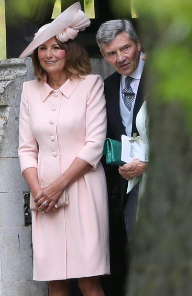 Carole And Michael Middleton After The Wedding Of Pippa Middleton And James Matthews May 20