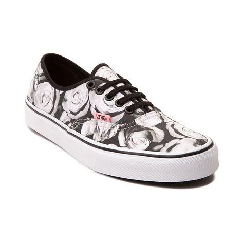 Vans Authentic Roses Skate Shoe
