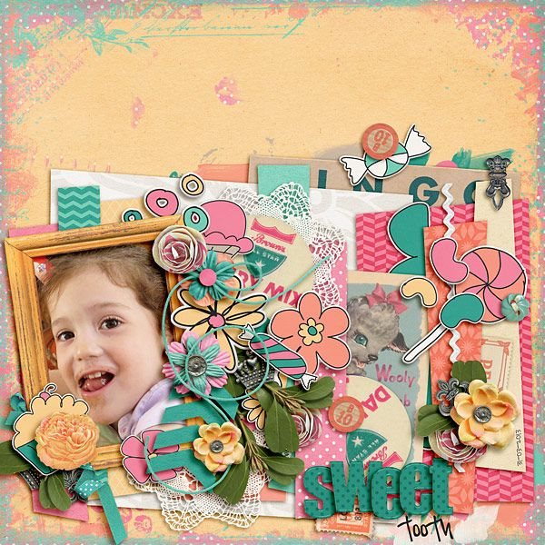 Template from Jargon by Zoliofrope http://shop.scrapmatters.com/jargon-by-zoliofrope.html Getting Edgy Vol., Lil' Sweetie Elements, Papers, ...