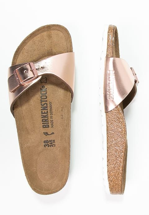 detailed look cc960 1cf54 MADRID - Pantolette flach - metallic copper @ Zalando.de ...