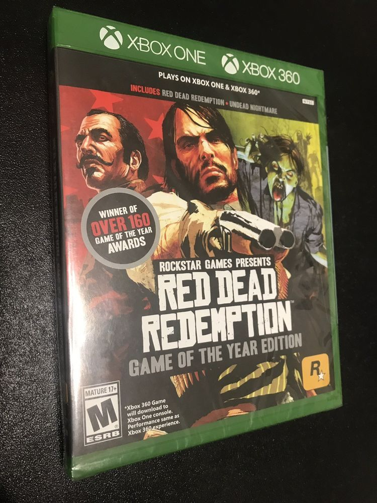 Brand New Slightly Damaged Red Dead Redemption Game Of The Year