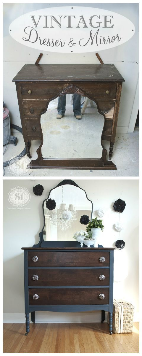 25 Classy Vintage Decoration Ideas. Salvaged FurnitureStaining ...