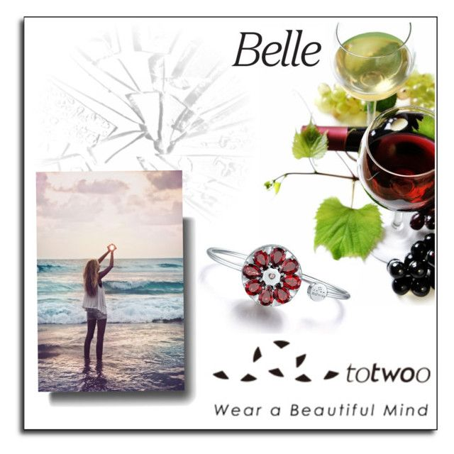 """""""TOTWOO"""" by soleuza ❤ liked on Polyvore featuring contest, WearableTech, totwoo and smartjewelry"""