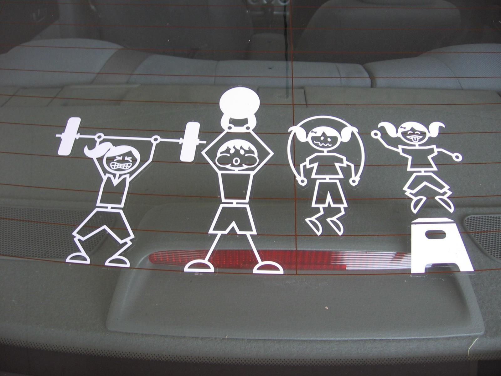 Super Cute Crossfit Inspired Family Decals For Your Auto At Www Stickitstrong Crossfit Kids Crossfit Inspiration Crossfit Humor [ 1200 x 1600 Pixel ]