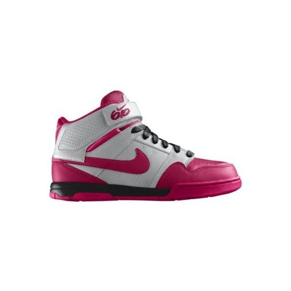 solicitud Prohibición regalo  Nike Women's Air Mogan Mid 2 iD Custom Shoes - Pink, 9 found on Polyvore |  Handbags nz, Nike free shoes, Custom shoes