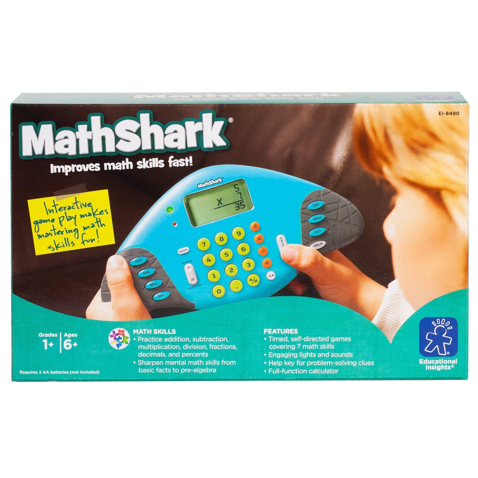 Educational Insights MathShark Master Math Skills