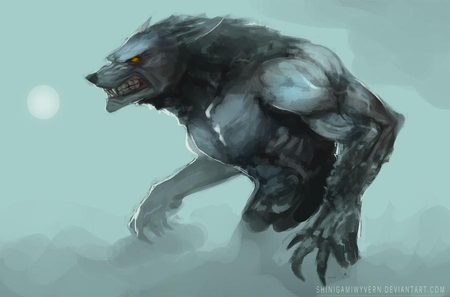 Bloodlust By Shinigamiwyvern On Deviantart Skyrim Werewolf Monster Concept Art Werewolf