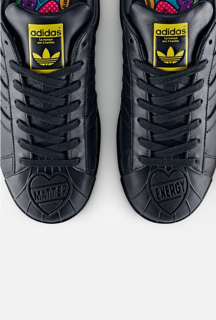 83e6513e8eb adidas Originals   PHARRELL WILLIAMS Once again transforming the iconic  Superstar model