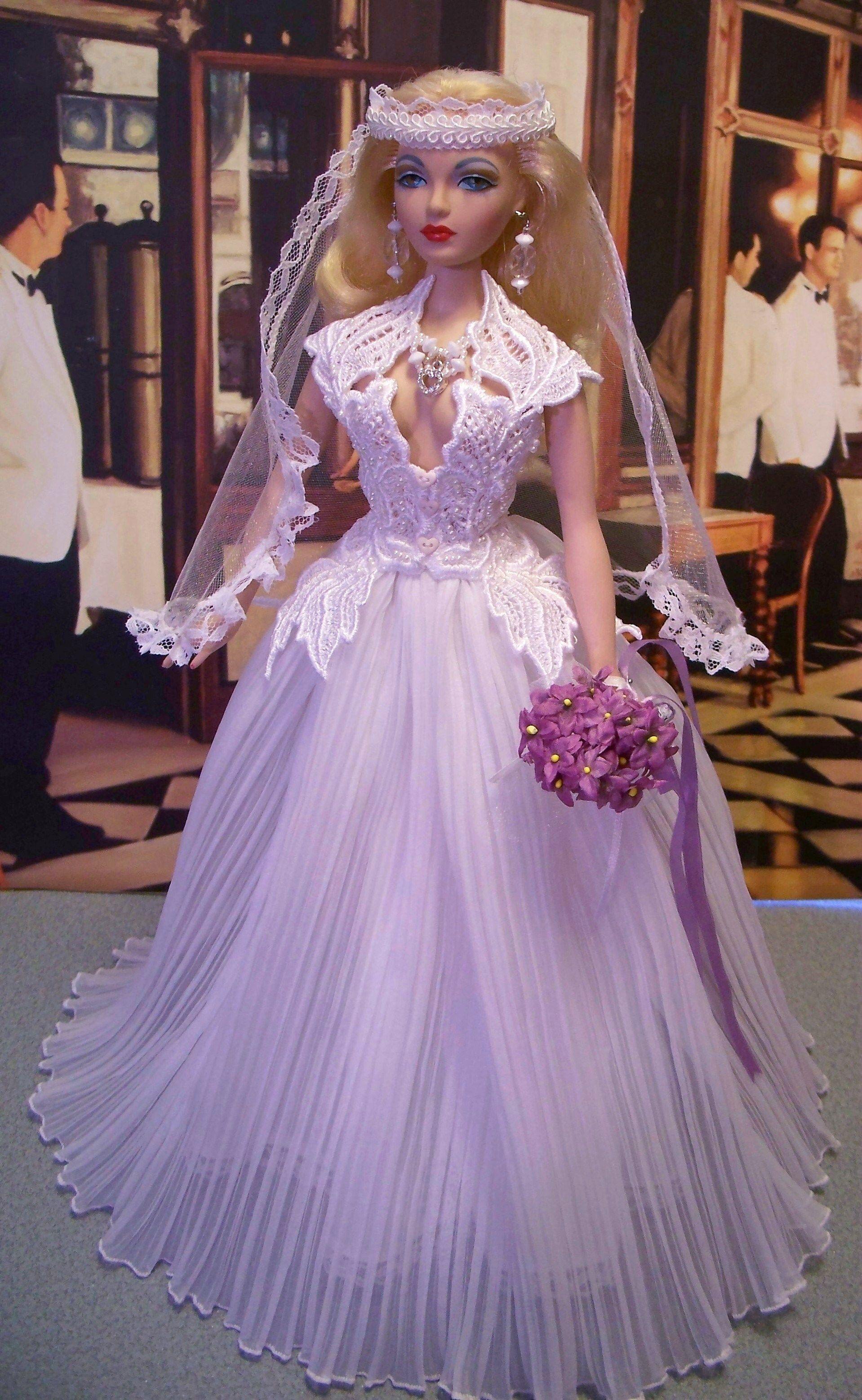 OOAK Doll Bride Fashion by Karen glammourdoll | novias | Pinterest ...