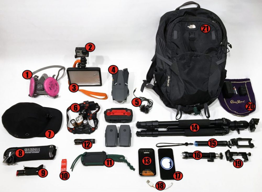 Our Recommended Urban Exploring Gear What Is In Our Urbex Bag Urban Exploration Urban Urban Survival Kit