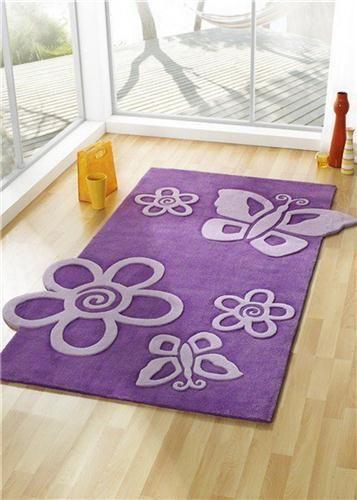 Purple butterfly rug   Tapis papillon, Hm deco et Papillon ...