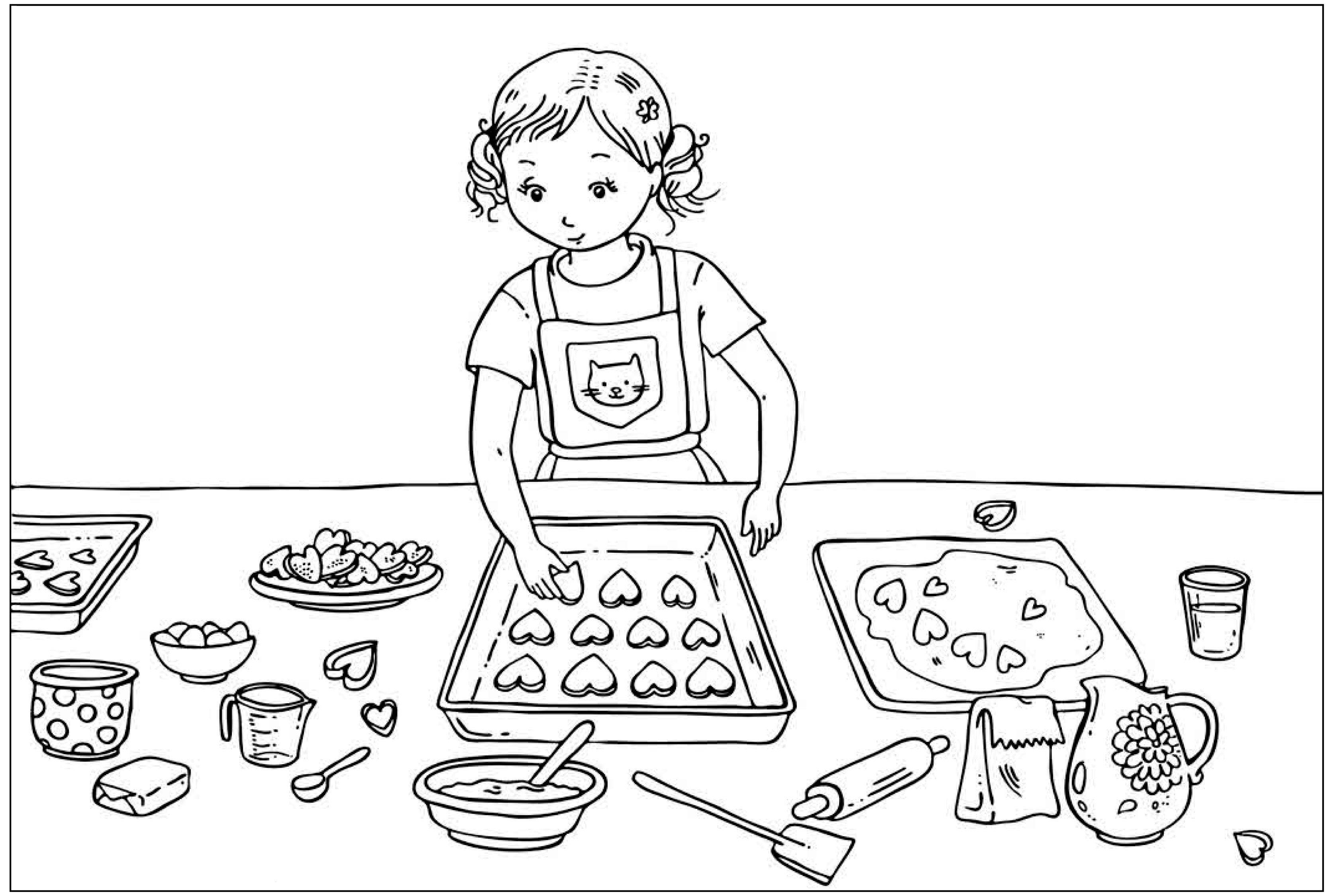 Kekse Ausmalbilder Fur Kinder