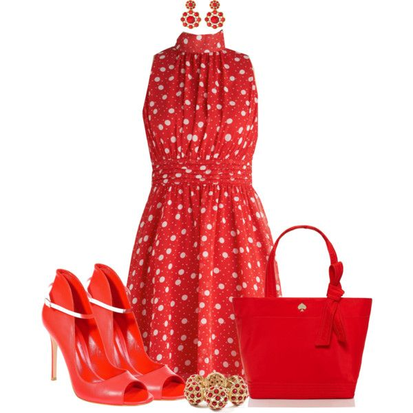 """""""I Am All REDdy!"""" by shakerhaallen on Polyvore"""