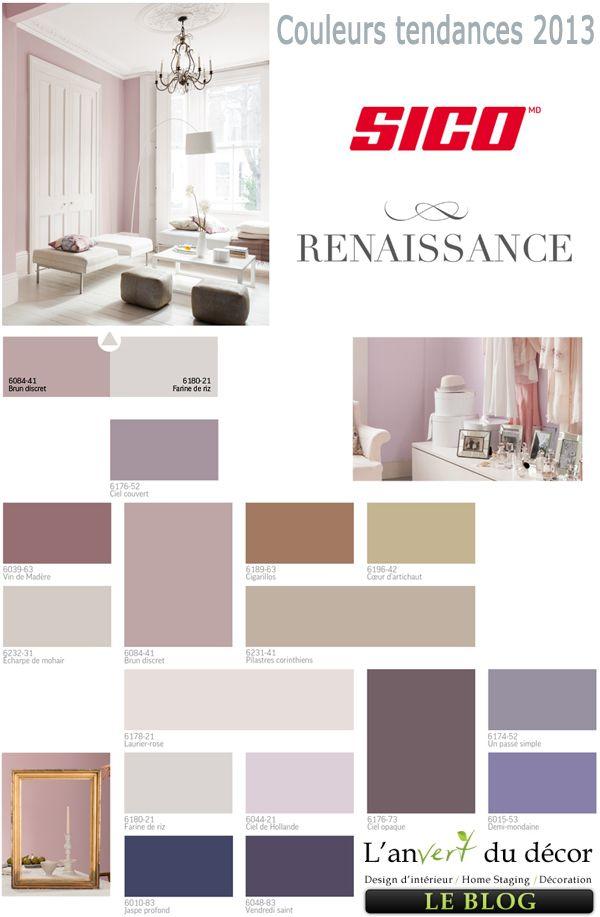 sico palette 2013 renaissance - Palettes De Couleurs Peinture Murale