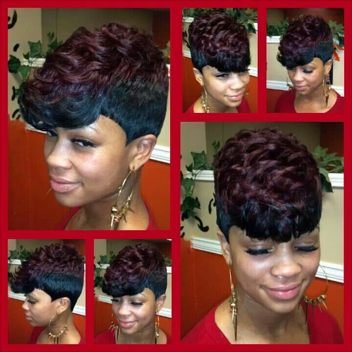 27pc Quick Weave Dopee Styles Hair Styles Short Hair