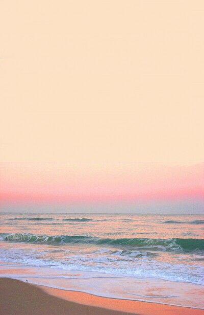 Pastel Ocean Sunrise