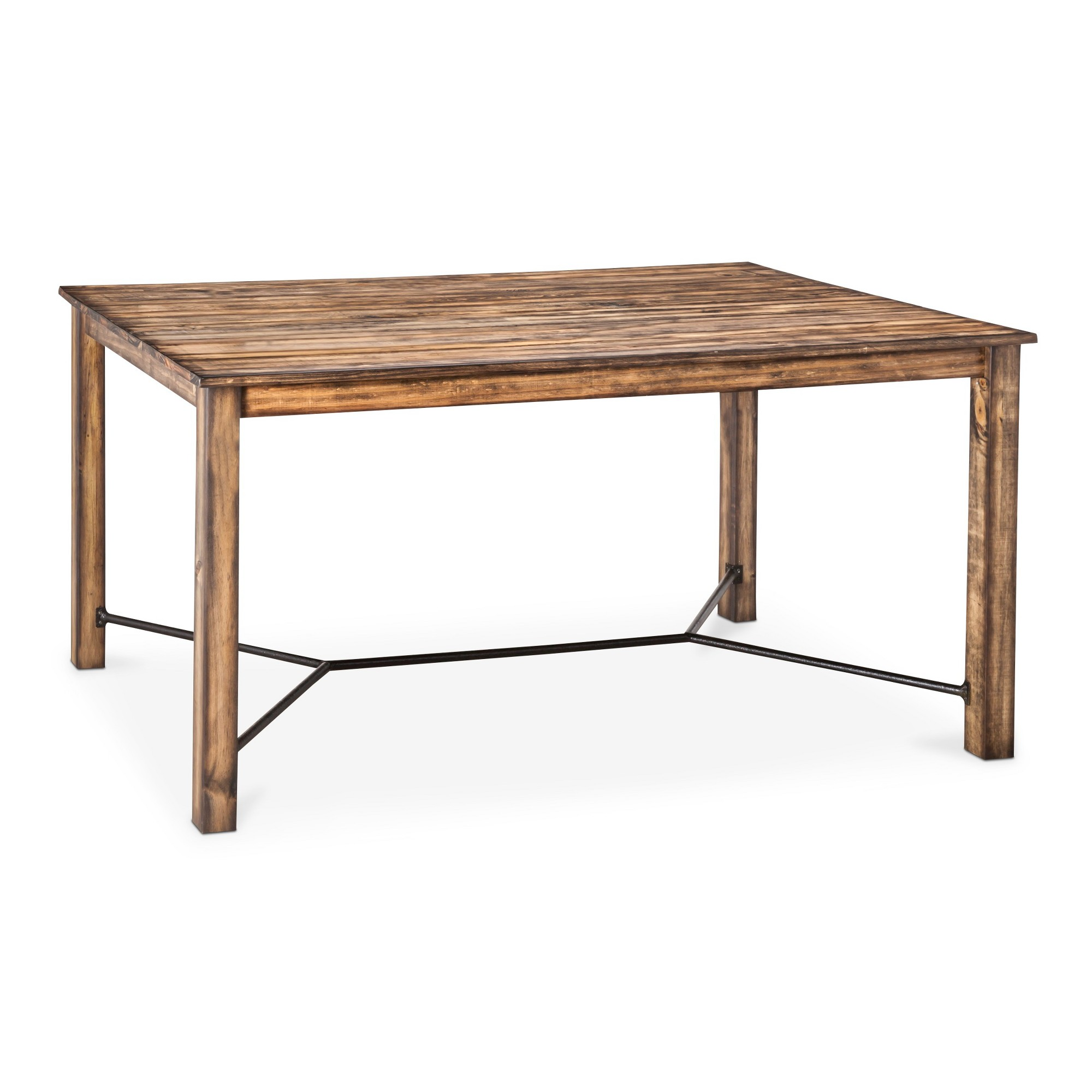 Perdana 60 Dining Table Brown Integra Farm Dining Table