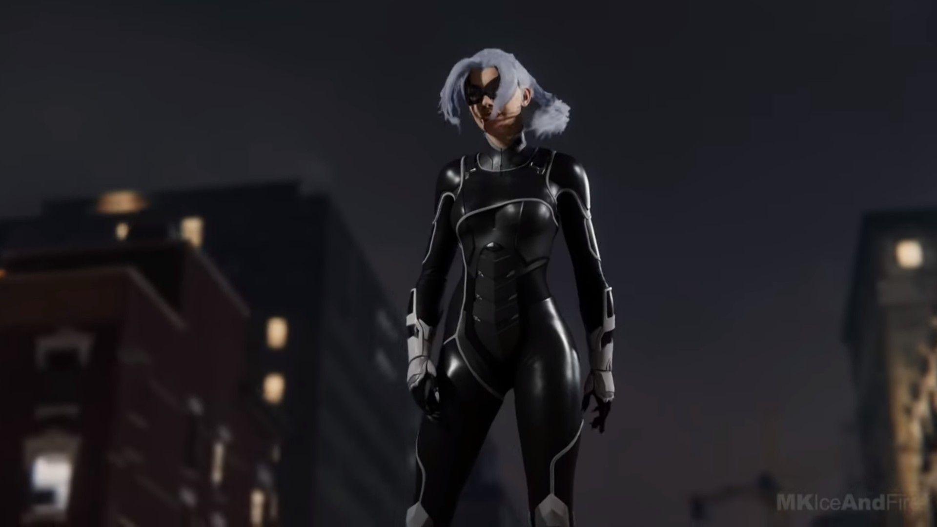 Black Cat From Marvel Spiderman Ps4 Black Cat Marvel Black Cat Marvel Spiderman