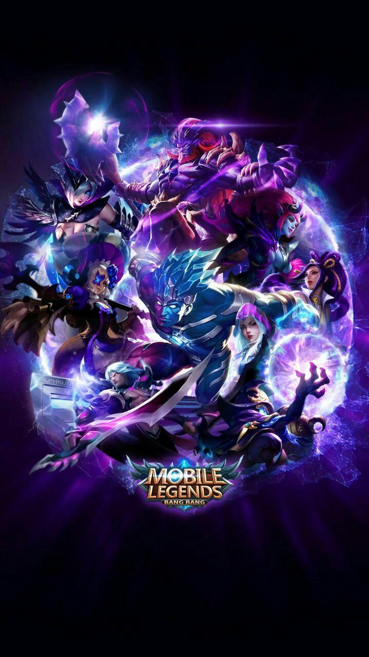 Mobile Legend Bang Bang Wallpaper HD Blue Team Latar