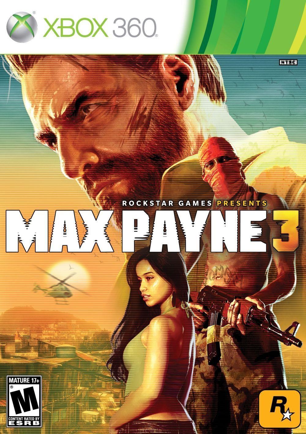 Title Max Payne 3 (Microsoft Xbox 360, 2012) Complete UPC