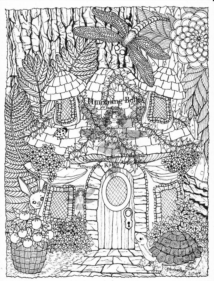 detailed coloring pages 09 | adult coloring | Pinterest | Adult ...