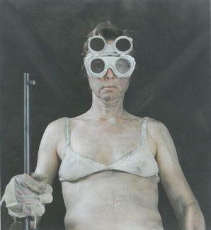 Hommage an Ed Kienholz, Serie 'In guter Gesellschaft', 2006 © Inken Boje VG Bild-Kunst, Bonn 2015