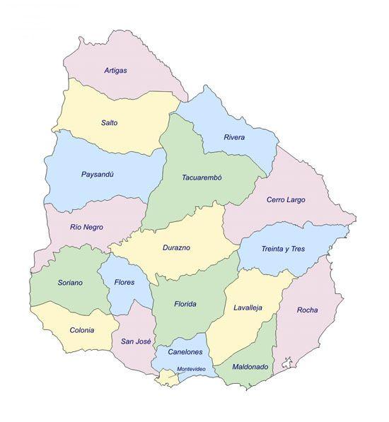 Mapa poltico de uruguay educacin pinterest uruguay mapa poltico de uruguay gumiabroncs Image collections